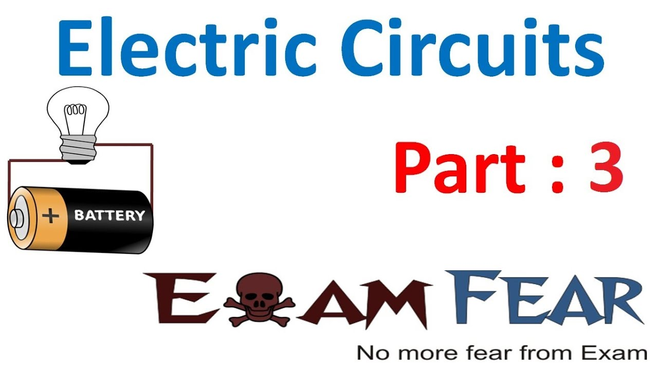 Physics Electric Circuits Part 3 Direction Of Current Cbse Class Video Animation Simple Electrical Circuit Showing Flow By 12