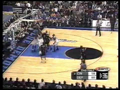 Cincinnati Bearcats vs Depaul Blue Demons 3-2-2000