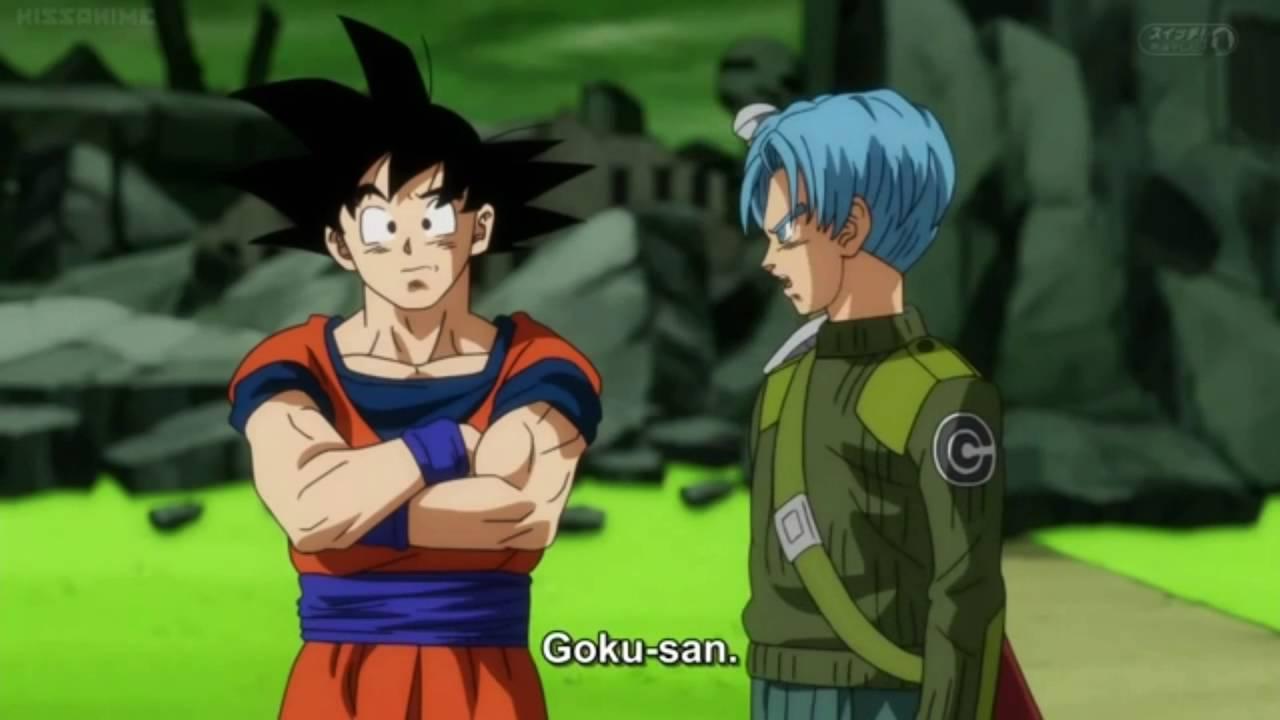 Dragon Ball Super: Goku Black Base form Vs. SSB Vegeta - YouTube