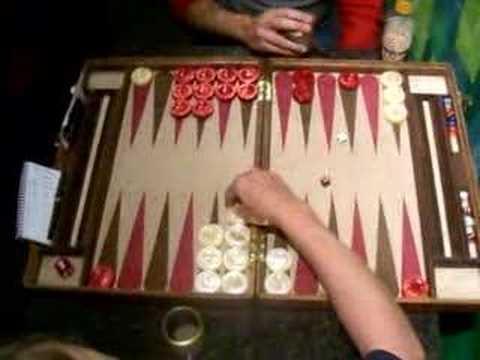 Santa Barbara Backgammon Finals Game 5