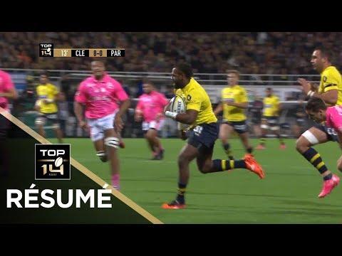 TOP 14 - Résumé Clermont-Paris: 33-10 - J8 - Saison 2017/2018