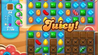 Candy Crush Soda Saga Level 85 - NO BOOSTERS