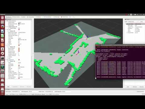 Octomap Mapping using Scanning Lidar(2D)