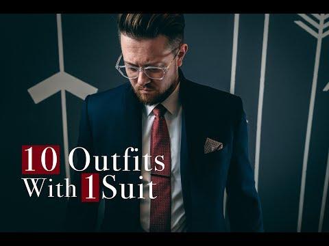 Men's Fashion Tips l 10 ways to wear a 3 Piece Suit