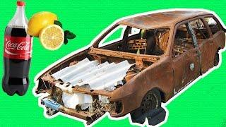 видео Как убрать коррозию и ржавчину на авто своими руками