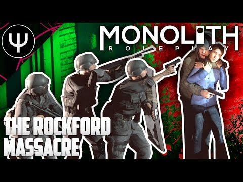 GMod: Monolith RP Mod — The Rockford Massacre!