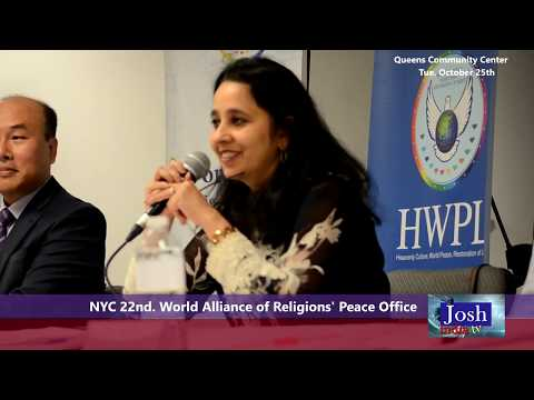 World Alliance of Religion Event III - JOSH INDIA TV - News and Current Events (Must Watch)