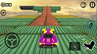Extreme Impossible Stunt Car Tracks : Master - Android GamePlay - Car Stunt Games Android #8