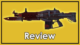 Destiny: Exotic Weapon Review - Red Death, Pulse Rifle