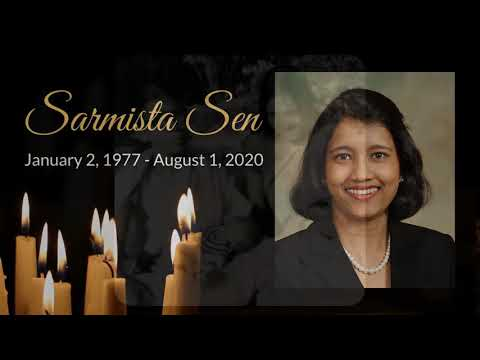 Sarmistha Sen Remembrance Video