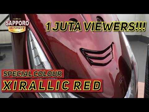 SPECIAL COLOUR SAPPORO ULTIMATE XIRALLIC RED | Sapporo Ultimate
