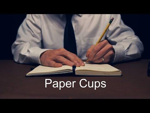 Paper Cups [ ASMR ]