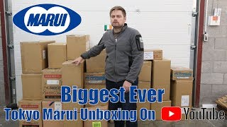 The Biggest Tokyo Marui Airsoft Unboxing Ever.