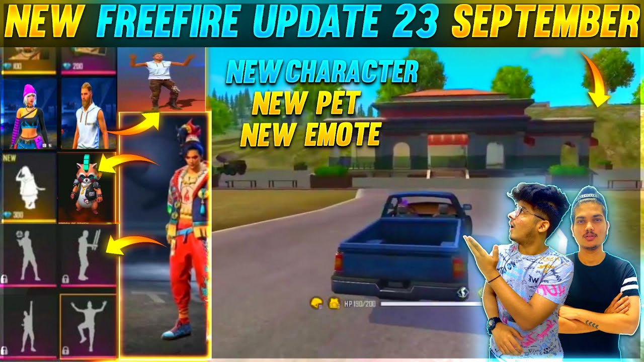 Garena Free Fire Upcoming Updates And Leaks Full Review About New Map,Characters,Pet And Many More
