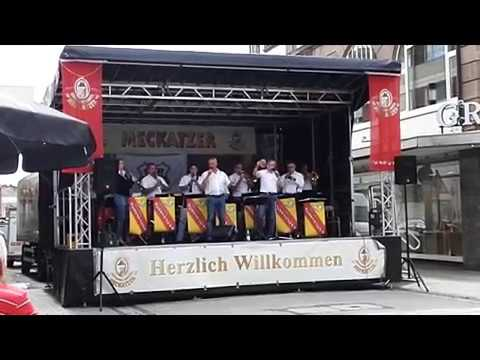 Die Orig. Aussteiger - Singen  Stadtfest 2018