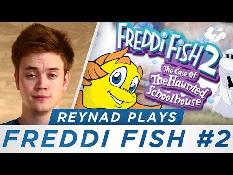 Reynad Plays [Ep. 2] - Freddi Fish 2: The Case Of The Haunted Schoolhouse