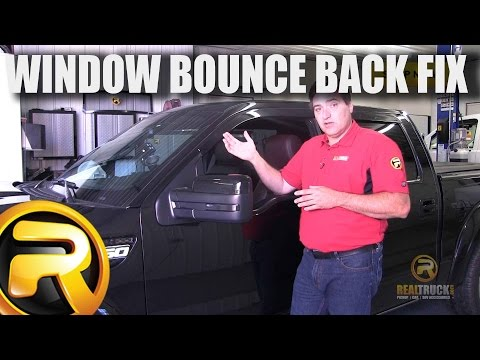 How To Fix Ford Auto Up Window Bounce Back
