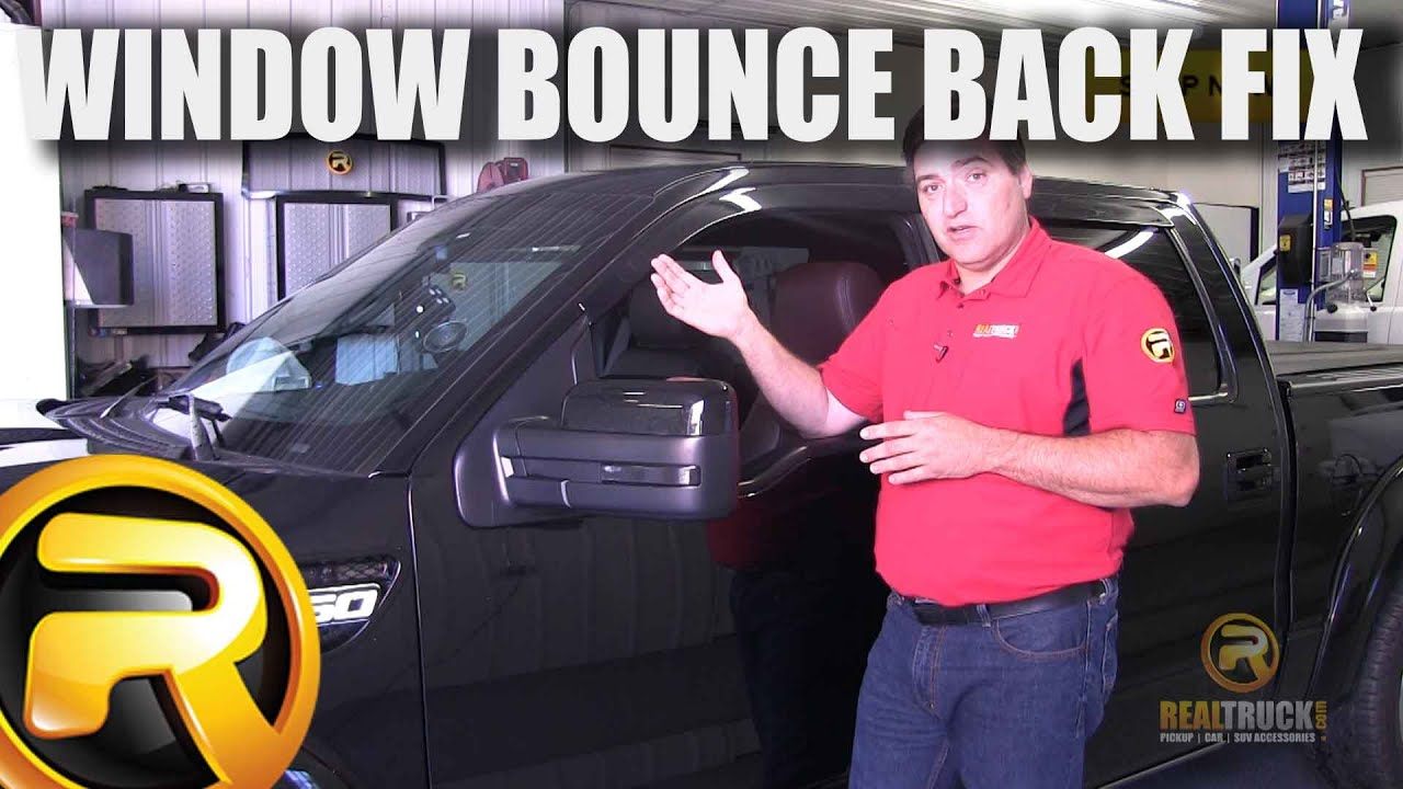 How To Fix Ford Auto Up Window Bounce Back Youtube