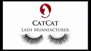 6e5a096d2aa 3d MINK EYELASH lash Manufacturer vendor catcat lashes factory