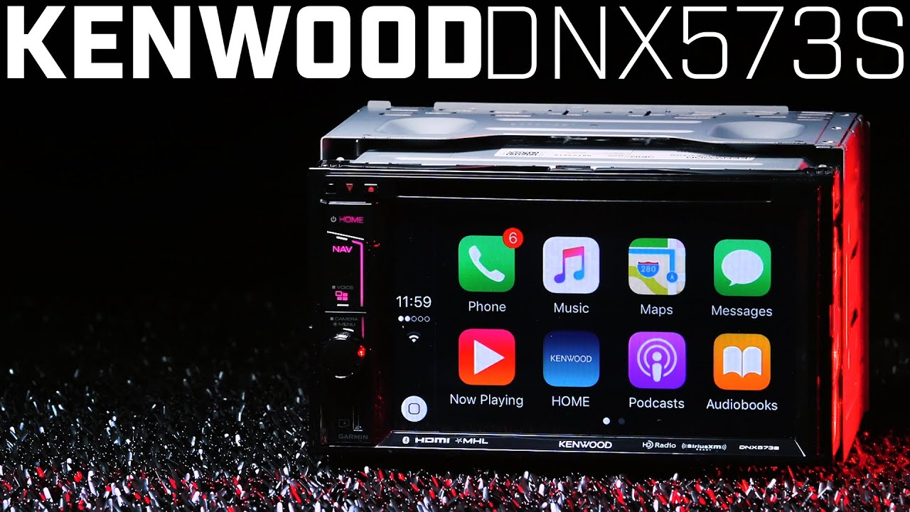 kenwood dnx573s double din apple carplay navigation. Black Bedroom Furniture Sets. Home Design Ideas
