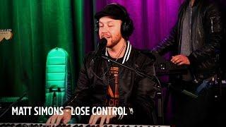 Matt Simons - Lose Control  | Live bij Evers Staat Op