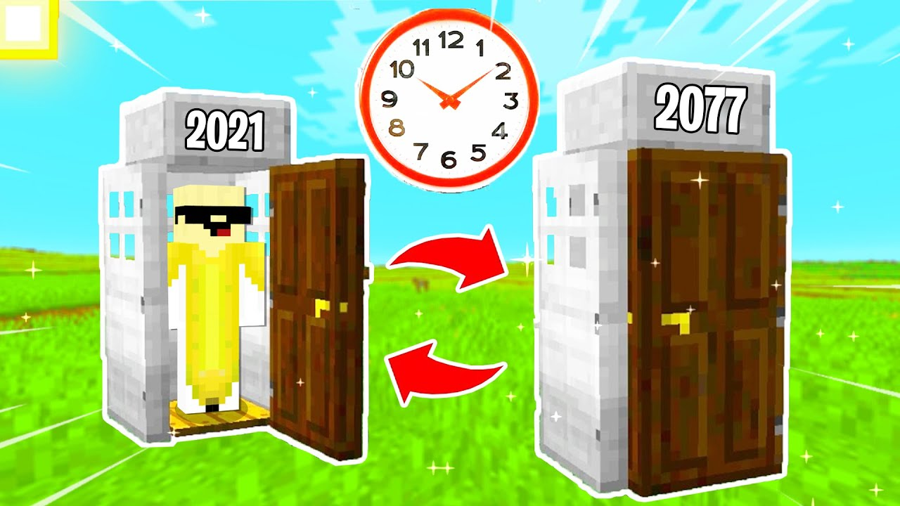 Minecraft, But I Made A WORKING Time Machine!!!