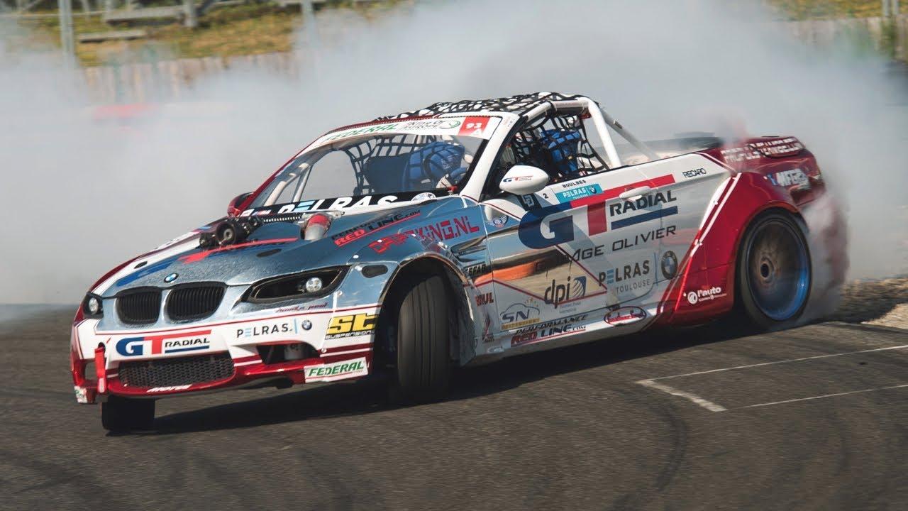 900HP Supercharged BMW M3 E93 Drift Car - LOUD LSX 376 V8 Engine Sound!