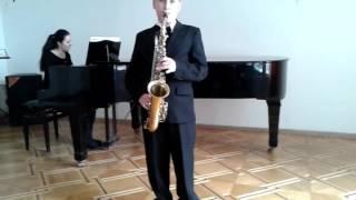 Кольцов Николай 11лет (2 год обучения в классе саксофона) ГДШИ