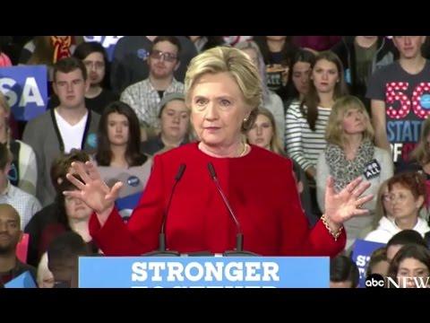 Hillary Clinton FULL SPEECH | Kent, Ohio Rally (10/31/2016)