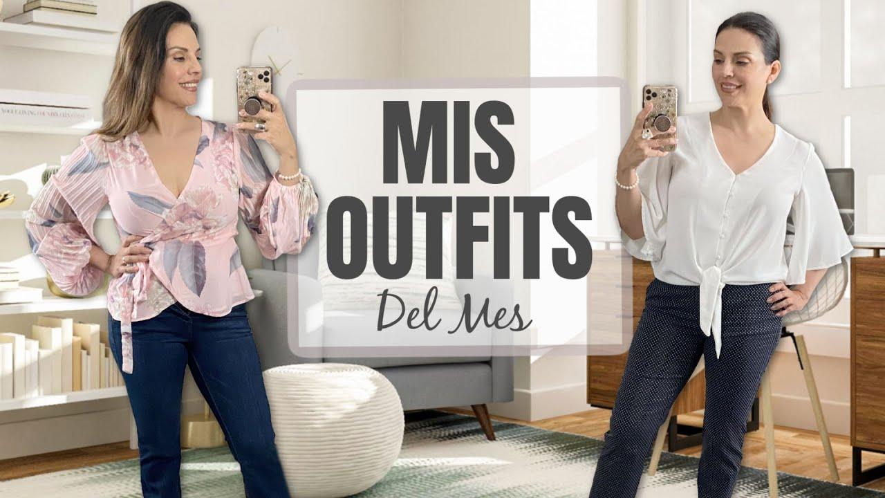Mis Outfits del Mes | CUARENTONAS Y FELICES