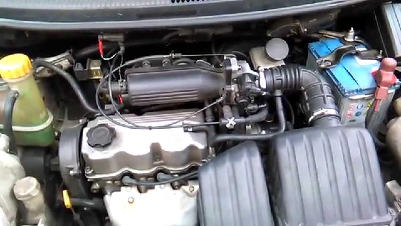 1996 Kia Sephia Engine Diagram Vacuum Probar Valvula Pcv Youtube