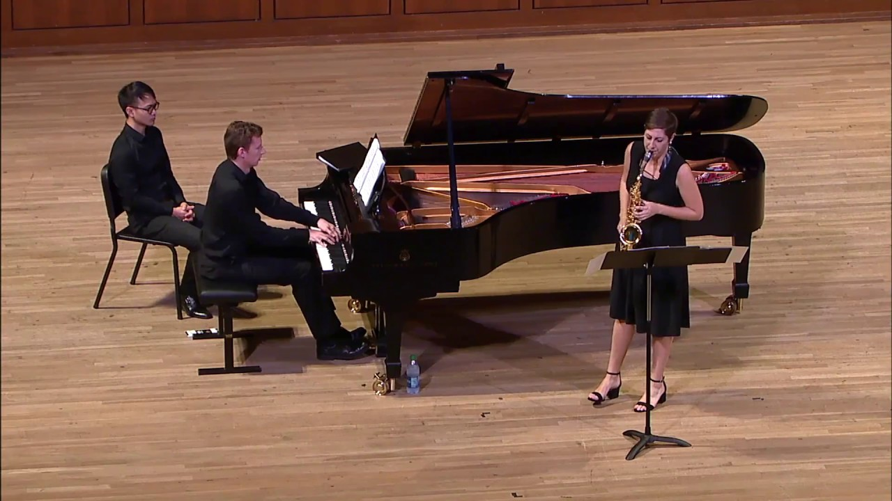 Sarah Hetrick plays Denisov, Sonate, I. Allegro