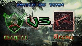BUFU vs Recall sur MW3, Par LaTFhEu24200