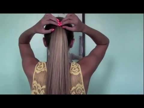 6 Cute and Easy Ponytails! | Tasha Farsaci