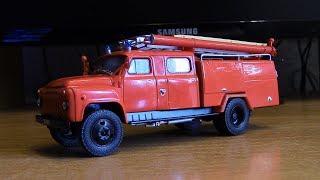 Пожарная машина АЦ 30 Грузовики СССР №8