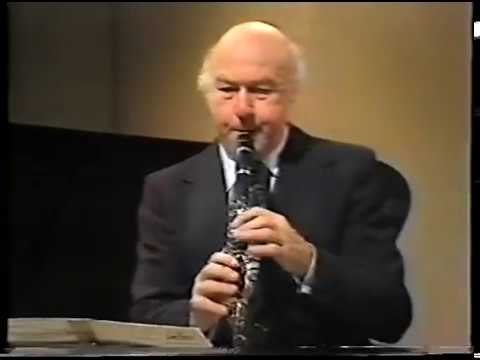 Jack Brymer/ BBC Television Masterclass
