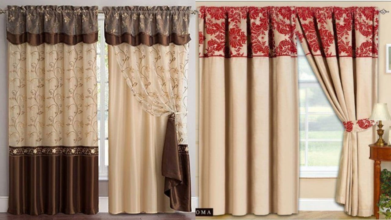 stunning curtains designs/beautiful curtains designs for Livingstoom decor ideas