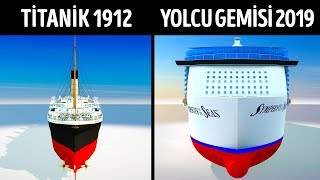 Titanik Modern Yolcu Gemilerine Karşı!