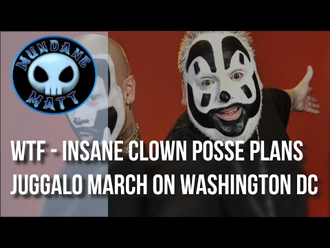 [News] WTF - Insane Clown Posse plans Juggalo march on Washington DC
