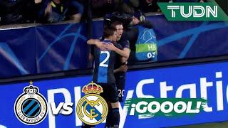 ¡Gol! Y Brujas empata el partido | Club Brujas 1 - 1 Real Madrid | Champions League J6 GrupoA | TUDN