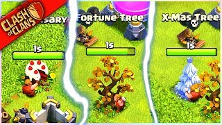 ** I'M REMOVING MY 5 RAREST Clash of Clans TREES? (whyyyyy!) **