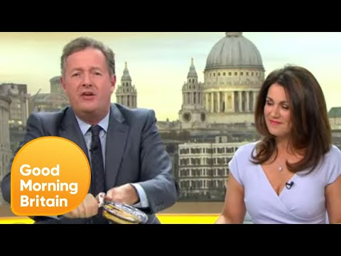 How Easy Is It to Open a Tin of Fray Bentos? | Good Morning Britain