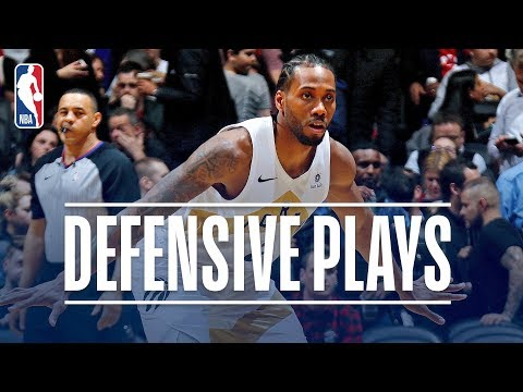 Kawhi Leonard's Best Defensive Plays! | 2018-19 NBA Regular Season & Playoffs