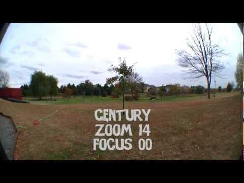 Century MK2 Vs Opteka .3x Fisheye