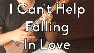 Easy Ukulele Lesson - Elvis Presley - I Can't Help Falling In Love - Beginner Songs - w/Play-a-long