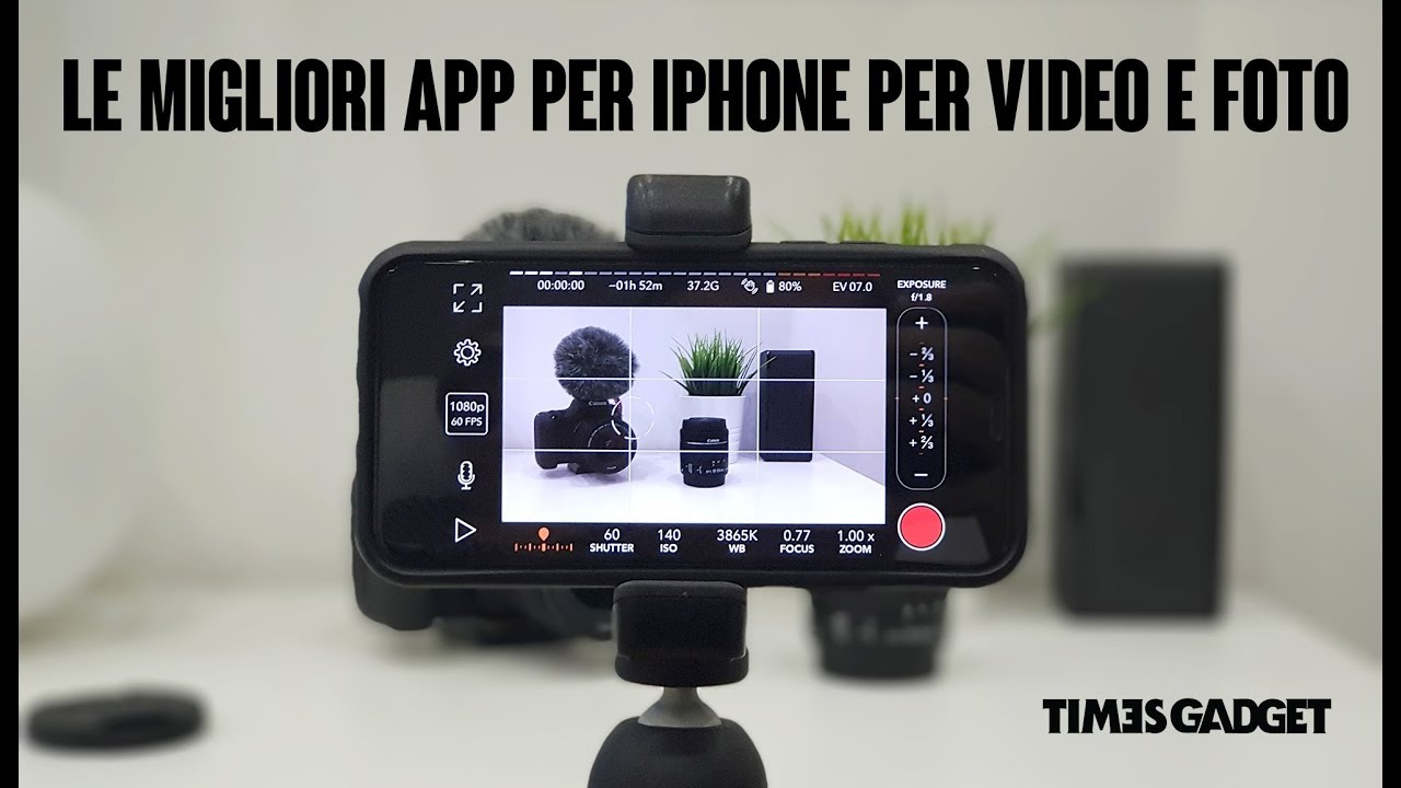 Le migliori app per iphone per girare video e foto youtube - Girare foto a specchio iphone ...