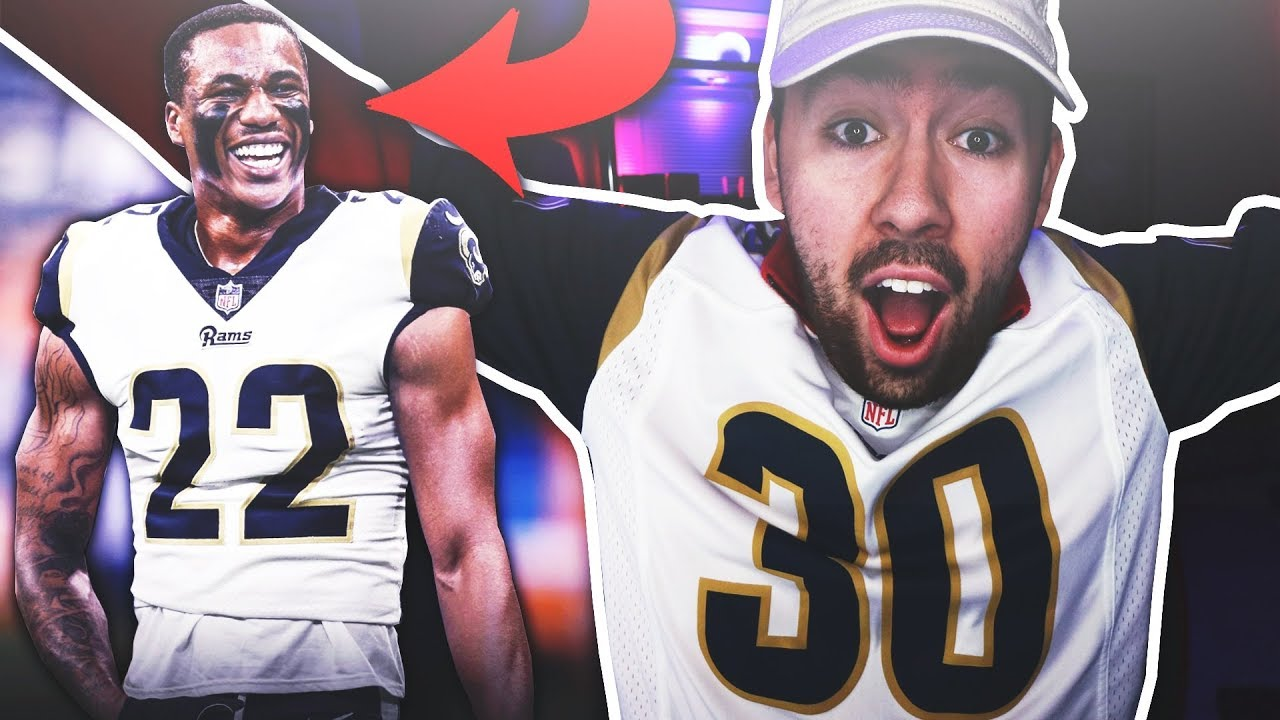 cf23828a THE RAMS TRADED FOR MARCUS PETERS!!! CRAZY FAN REACTION!!! - YouTube