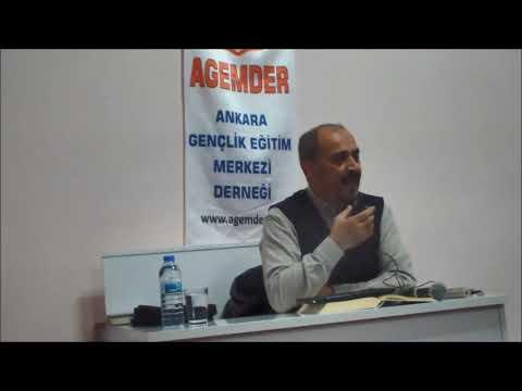 SEYFETTİN HUCA - ZAN, GIYBET, TEVBE VE HAYAT (AGEMDER KONFERANSLARI 22/02/2020)