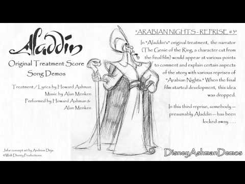 Arabian Nights - Reprise #3 - Howard Ashman Demo