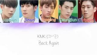 Video KNK (크나큰 ) - Back Again [ Lyric ] download MP3, 3GP, MP4, WEBM, AVI, FLV Maret 2018